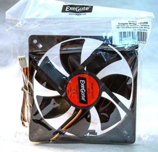 Exegate вентилятор для корпуса Exegate EX166176RUS