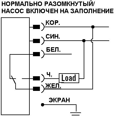 Схема подключения (разъём)
